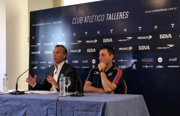 Biaggio paró el posible equipo para enfrentar a Talleres