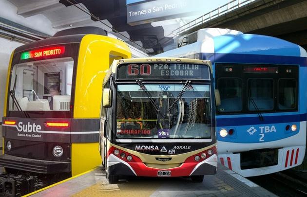 Cuáles son las nuevas tarifas de colectivos y trenes — Tramo por tramo