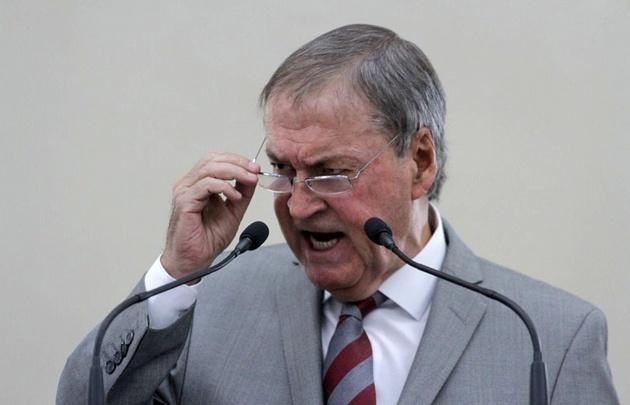 Schiaretti se descompuso en su discurso en la legislatura