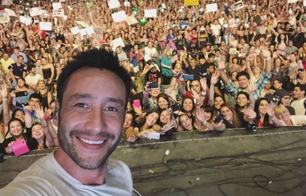 ¿Está bien? Luciano Pereyra suspendió shows por problemas de salud