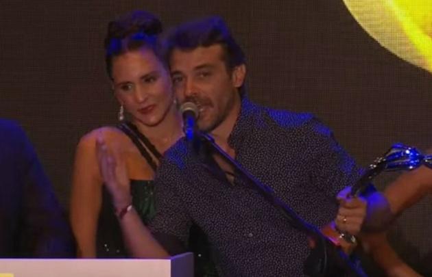 Pedro Alfonso prometió no volver a los Premios Carlos