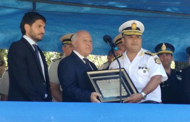 Villanúa es el nuevo jefe de la policía santafesina