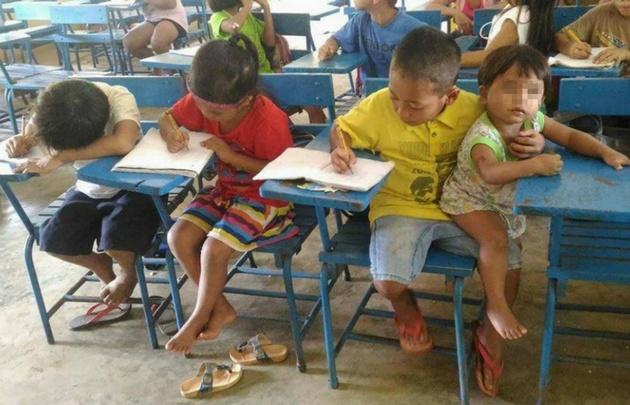La historia del niño filipino que se viralizó