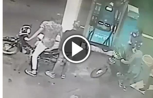 Asaltaron una estación de servicio y balearon a un policía — Córdoba