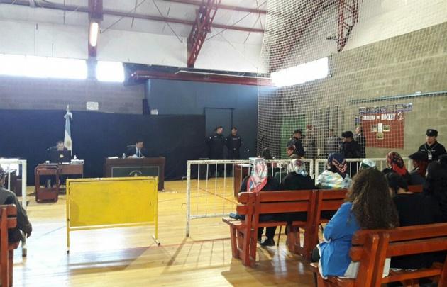 Trasladaron a Facundo Jones Huala en helicóptero — Juicio de extradición