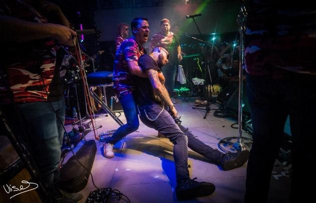 Ulises Bueno se desmayó en un show en Carlos Paz