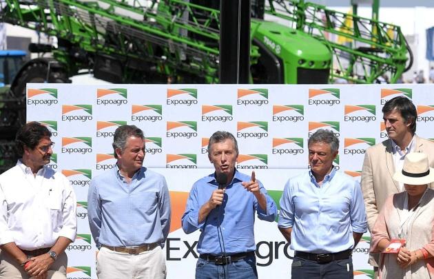 El presidente Macri inaugurará hoy la Expoagro, con importantes anuncios crediticios
