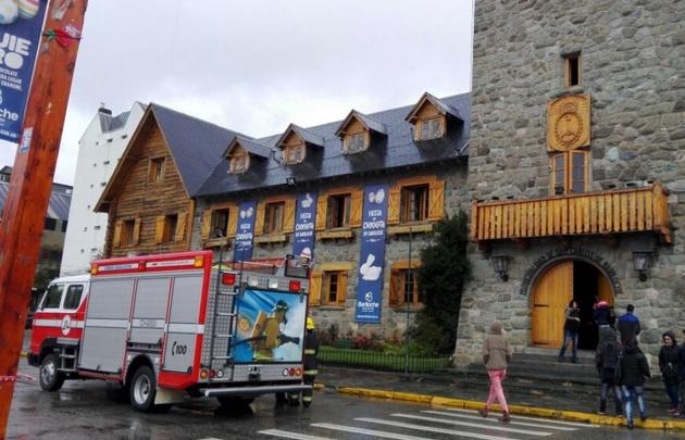 Quiso incendiar la oficina del intendente de Bariloche y fue detenido