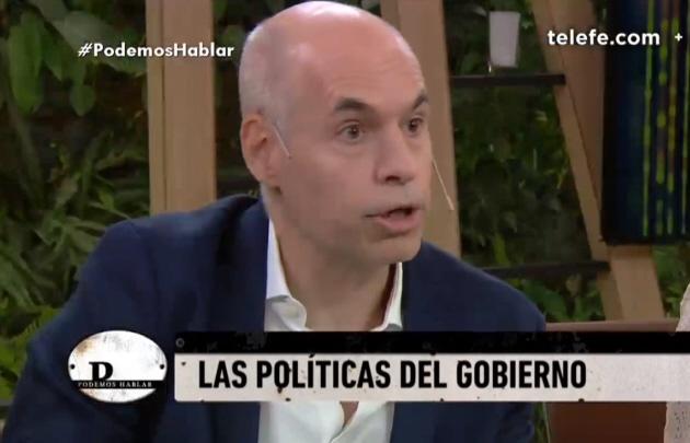 Rodríguez Larreta la pasó mal en TV por las críticas a Macri